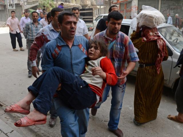 Отчёт: детей в Сирии делают мишенями умышленно