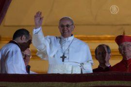 Новый Папа ездил на работу на автобусе