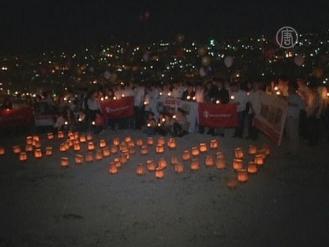 Дети Иордании поддержали детей Сирии