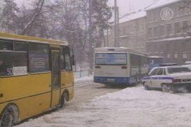 В Украине прекращаются рекордные снегопады