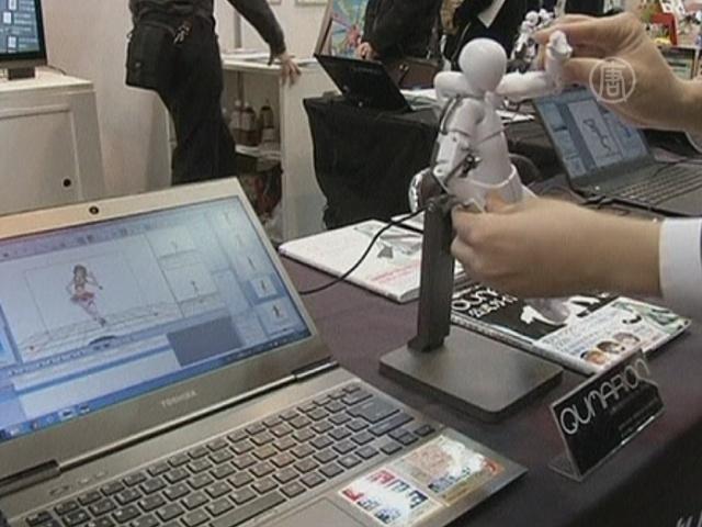Новые технологии для аниме показали в Токио
