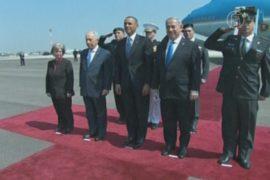 Израиль обстреляли во время визита Обамы