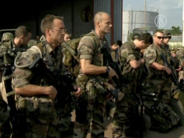 Франция направила военных в ЦАР