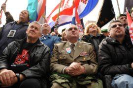 Хорватские ветераны против вывесок на сербском