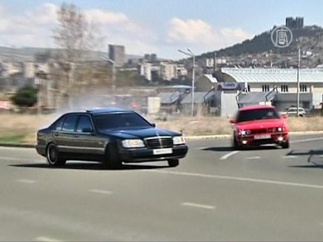Грузинские водители-экстремалы рвутся в Голливуд