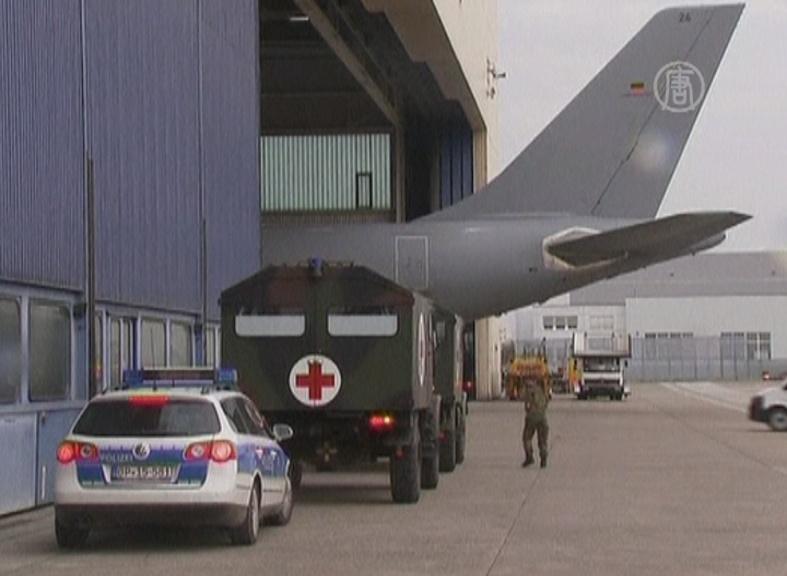 36 раненых сирийцев будут лечить в Германии
