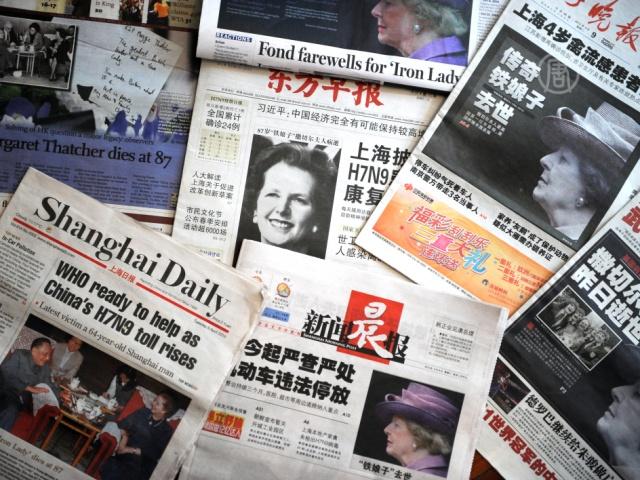 Китайским СМИ запретили цитировать без разрешения