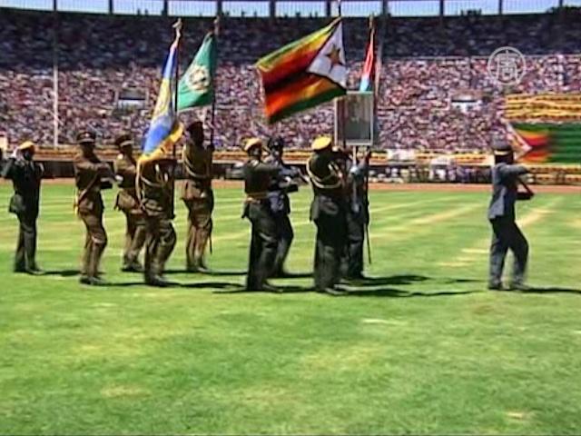 Президент Зимбабве заговорил о мире