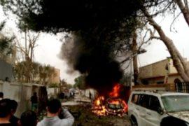 Атаковано посольство Франции в Ливии