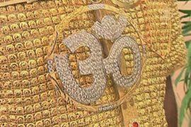 Индиец купил золотую рубашку за 250 000 долларов