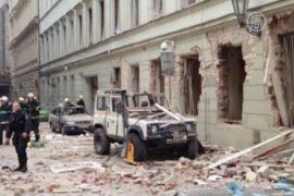 Взрыв в центре Праги не был терактом