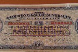 Австралия продает свою первую банкноту