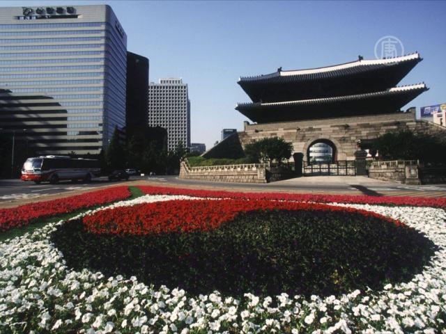 В Сеуле вновь открылись ворота Суннемун