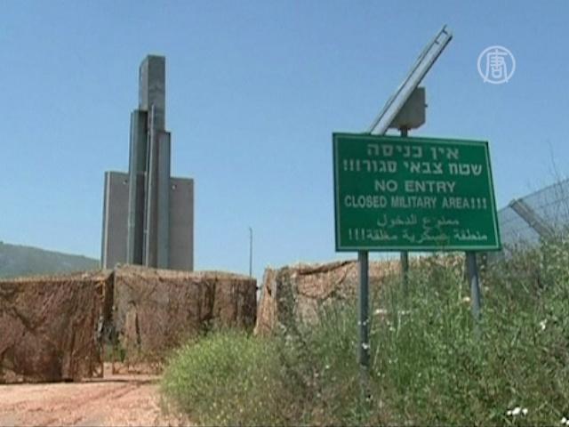 Израиль укрепляет границу с Ливаном