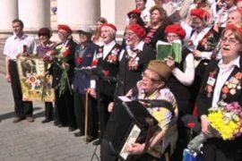 Московские ветераны празднуют День Победы
