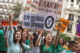 В Испании протестуют против реформы образования