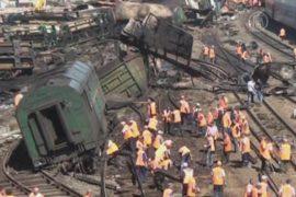 Пострадавших от взрыва состава — уже больше сорока