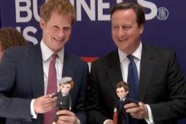 Принц Гарри и Кэмерон рекламируют Британию в США