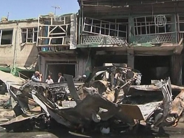 Теракт в Кабуле был нацелен на иностранцев