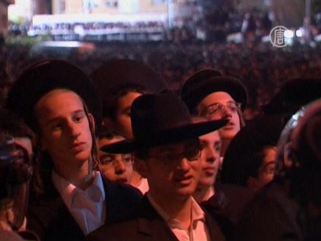 Тысячи евреев протестуют против военного призыва