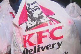 Ножки KFC доставляют в Газу контрабандой
