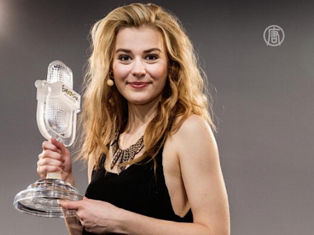 Победительницу «Евровидения» встречают на родине