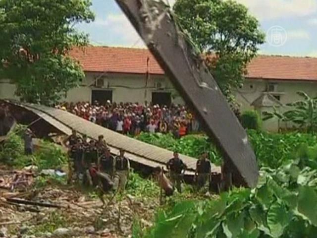 В Камбодже обрушилось здание: 24 пострадавших
