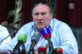 Депардье посетил Чечню и рассказал о новом фильме