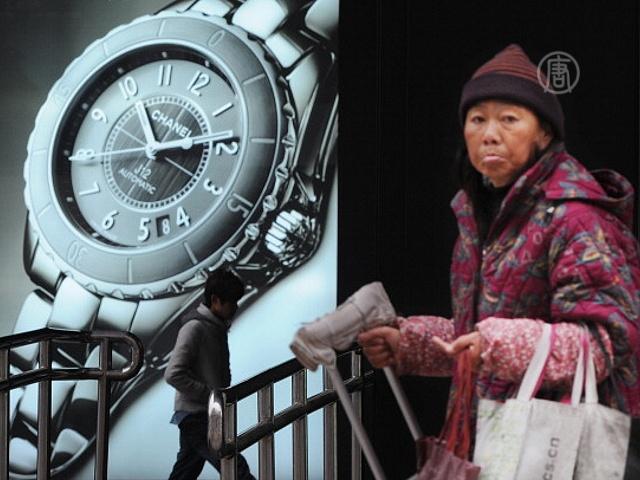 В Китае всё больше пожилых без пенсий
