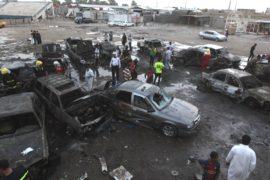 Более 80 человек погибли от взрывов в Багдаде