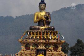 Буддисты мира отметили день рождения Будды