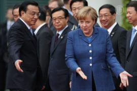 Германия обещает Китаю отмену пошлин