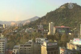Вулкан Копауэ вынуждает чилийцев эвакуироваться