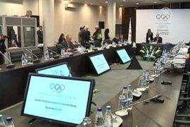 Кандидаты в президенты МОК приехали в Петербург