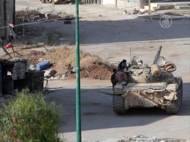 Европа вооружит оппозицию, а Россия – Асада