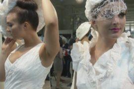 Встречайте невесту… в туалетной бумаге