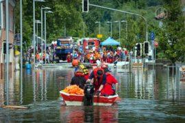 Германия и Венгрия по-прежнему под водой