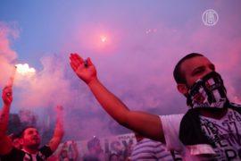 Стычки в Стамбуле продолжаются
