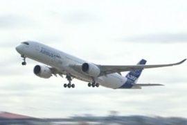 Новый Airbus A350 совершил первый полёт