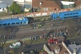 Аргентина: в час пик столкнулись два поезда
