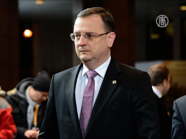 Чешский премьер уходит из-за скандала