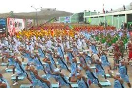 1200 заключенных строгого режима танцуют меренгу