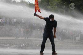 Протесты в Анкаре и Стамбуле продолжились