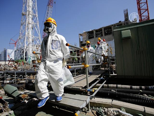 Вода под «Фукусимой» стала грязнее в 100 раз