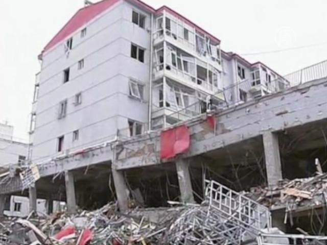 В КНР взорвался двухэтажный ресторан, есть жертвы