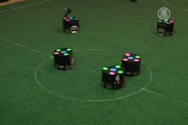 Колумбийские роботы готовятся к «большому футболу»