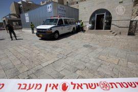 У Стены Плача застрелили израильтянина