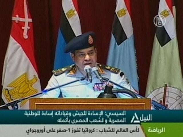 Армия Египта грозится вернуть себе власть