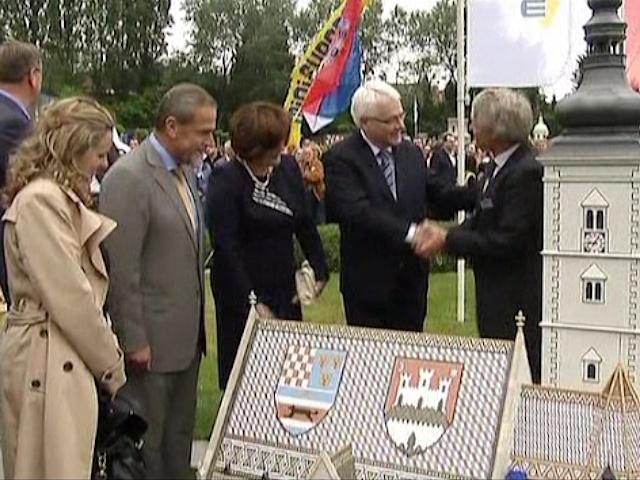 Хорватия появилась в брюссельской Мини-Европе