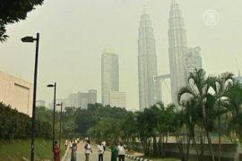 Смог в Азии немного ослаб, но не уходит